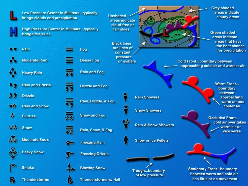 How To Read Weather Maps mrbuckleyslrtwiki / 7 8 B Hurricane Elena Task 3: How to Read a  How To Read Weather Maps